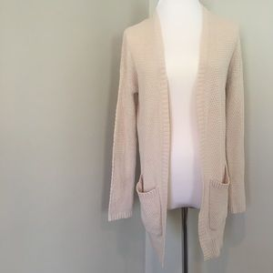 BDG Cardigan Sweater Pockets Knit Open Front